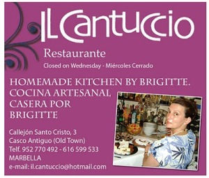 Il Cantuccio das kleine, malerische Restaurant im Herzen der Altstadt Marbella In einem kleinem alten Seitengässchen, am Plaza Santo Cristo, liegt das Restaurant Il Cantuccio.